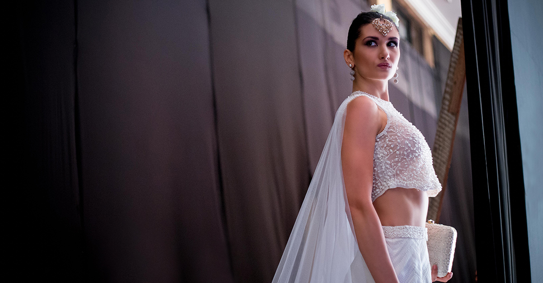 Backstage at Colombo Fashion Week